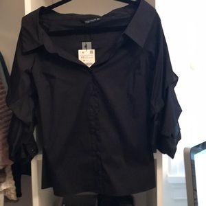 New Zara button down shirt